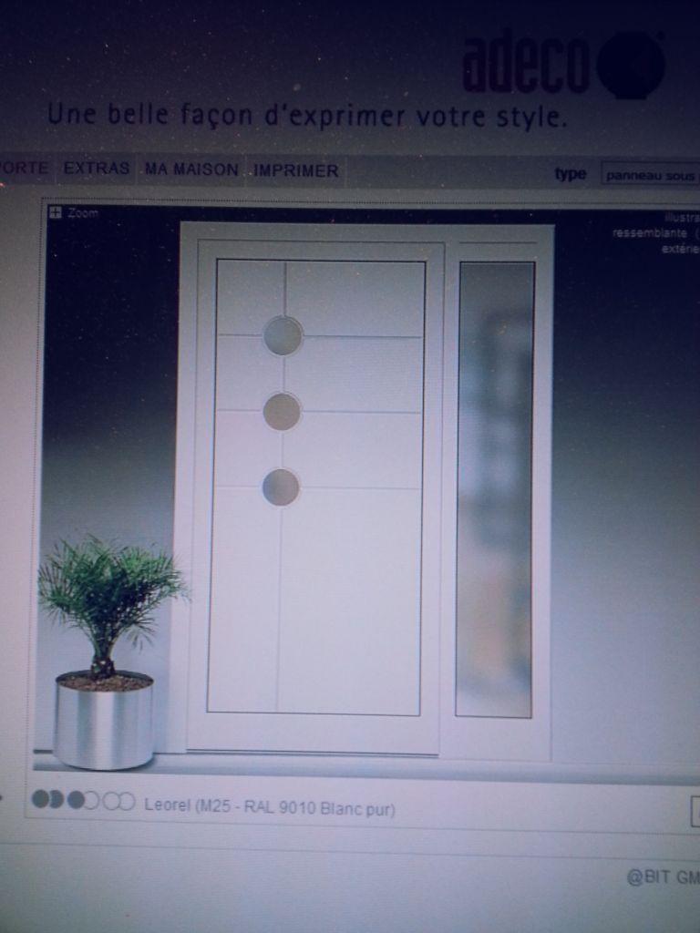 notre future porte d'entrée (1m   30cm fixe)