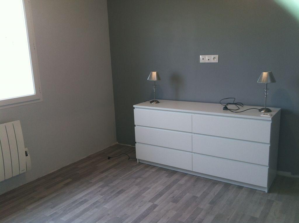 notre chambre - commode Malm ikéa - peinture dulux valentine: long Island pastel et moyen