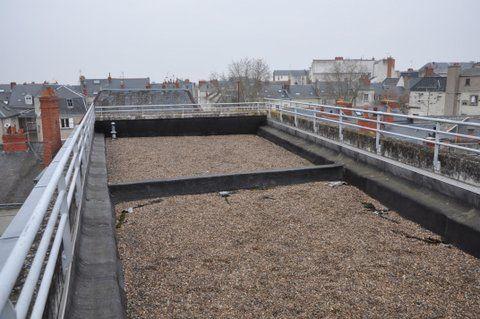 La terrasse avant travaux !