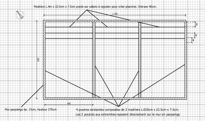 Schema pour creation plancher porteur.