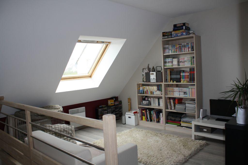 Mezzanine : salle de jeux (-vidéos), bibliothèque, et accessoirement chambre du Youglis Dog.