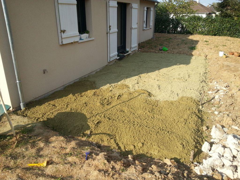R cit construction terrasse bois exotique 13 messages for Terrasse sur lit de sable
