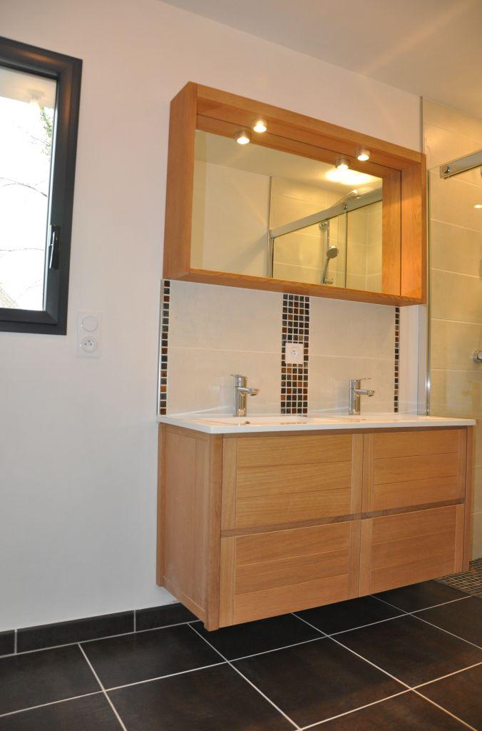 Photos de vos salles de bain une fois termin es 1343 for Porte meuble salle de bain leroy merlin