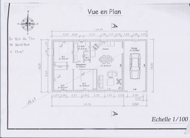 Aide plan de maison de 80 m2 309 messages for Comment trouver des plans de maison