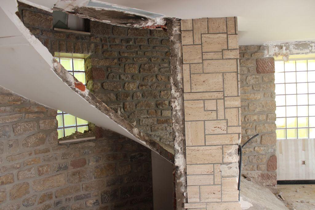 démolition escalier 1* partie