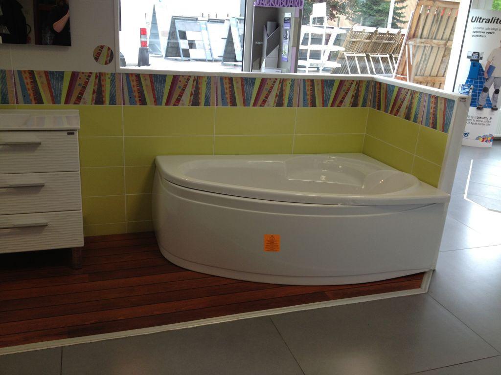 Salle de bain parquet bateau - Parquet quick step salle de bain ...