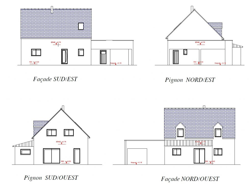 avis sur les fa ades d 39 une maison fenetres dans le pignon 15 messages. Black Bedroom Furniture Sets. Home Design Ideas
