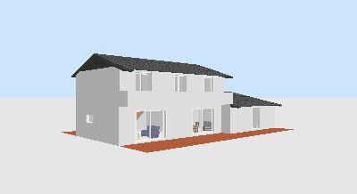 Demande d 39 avis plan maison 160m2 tage bioclimatique 29 for Plan maison moderne 160m2