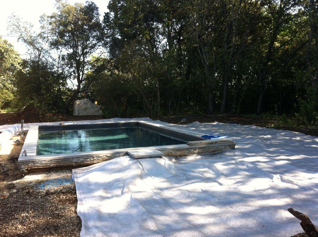 photo piscine b ton projet gard 30 mai 2013. Black Bedroom Furniture Sets. Home Design Ideas