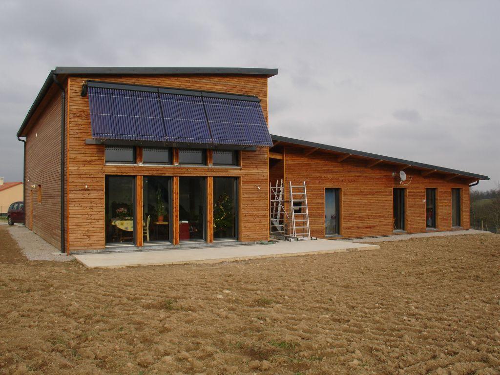Constructeur Maison En Bois Limoges construction de notre maison bioclimatique en bois, bosmie l