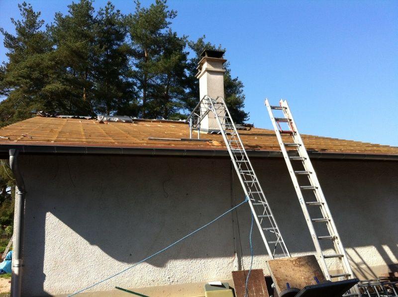 Récupération de la toiture