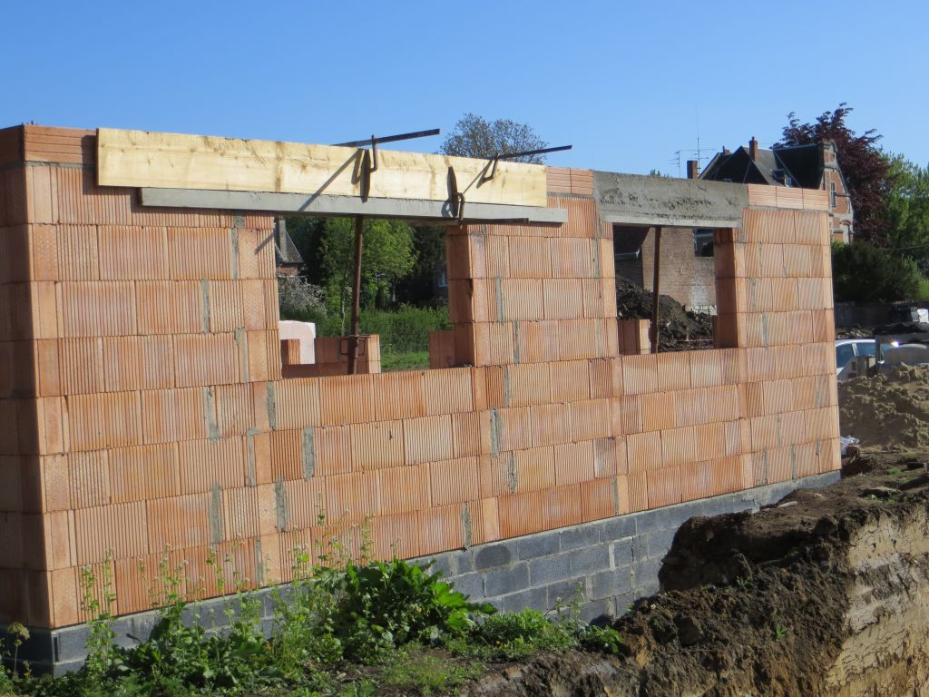 Linteaux b ton pour construction porotherm 14 messages for Construction garage en beton
