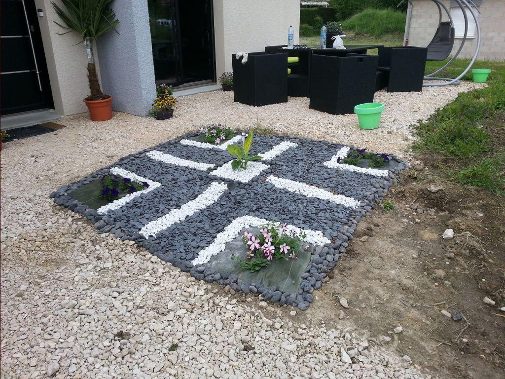 Le rendu final de notre petit carré planté ...