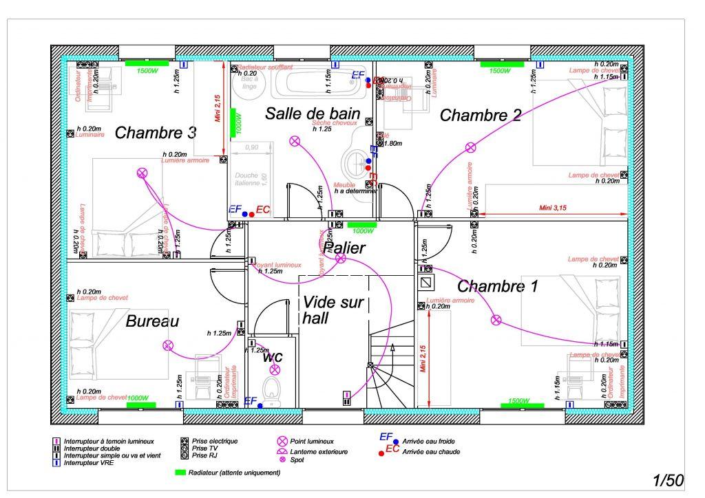 plan lectrique pas de calais prix renovation electricite maison - Plan D Installation Electrique Maison