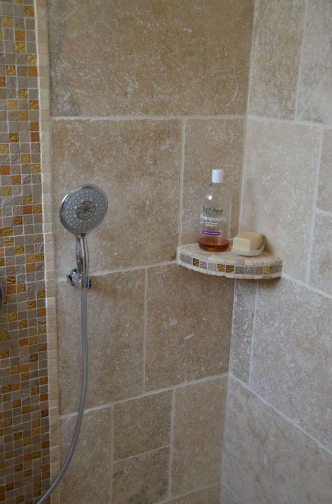 Photos de vos salles de bain une fois termin es 1342 - Quel carrelage pour douche a l italienne ...