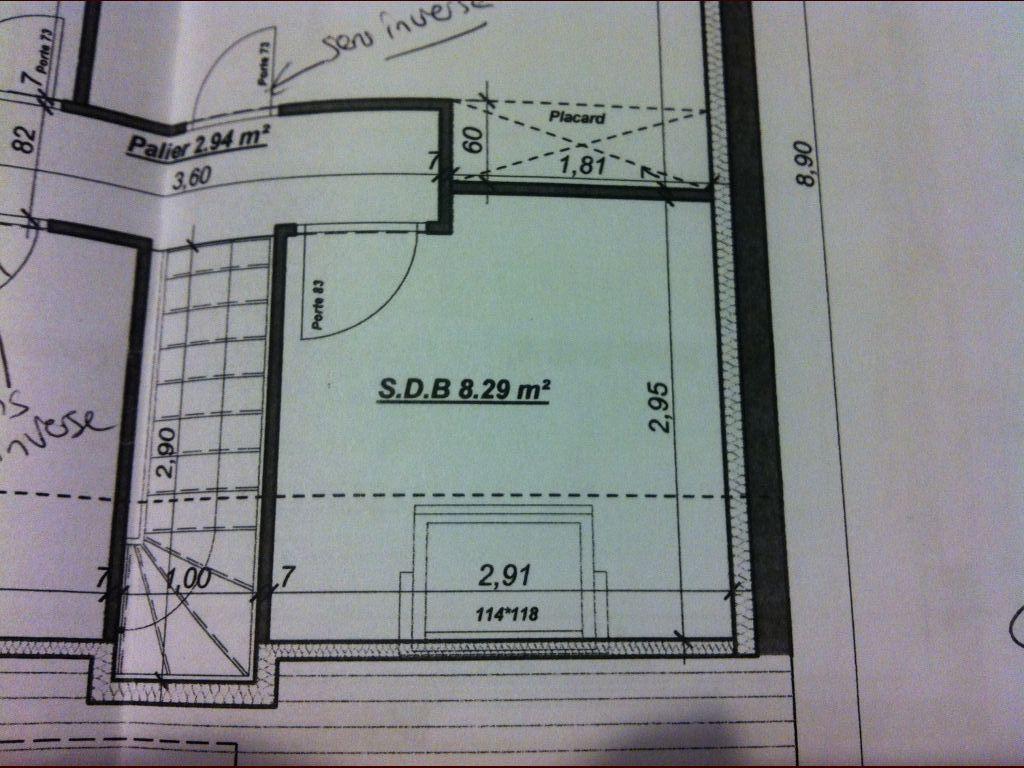 Agencement Salle De Bain M Messages - Salle de bain de 8m2