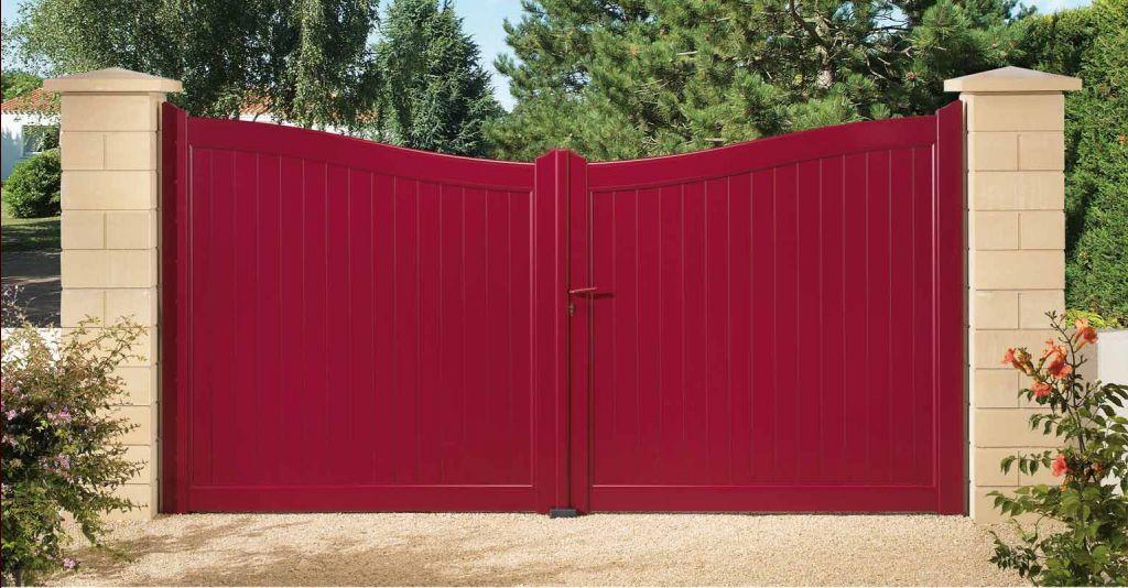 Premier plan de jardin plaidoyer pour un rouge - Couleur qui va bien avec le gris ...