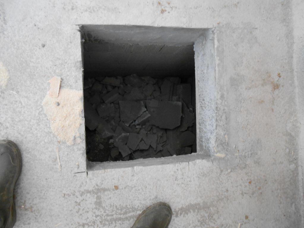 L vation des murs dalle et vide sanitaire charpente et toiture ste mau - Trappe vide sanitaire ...