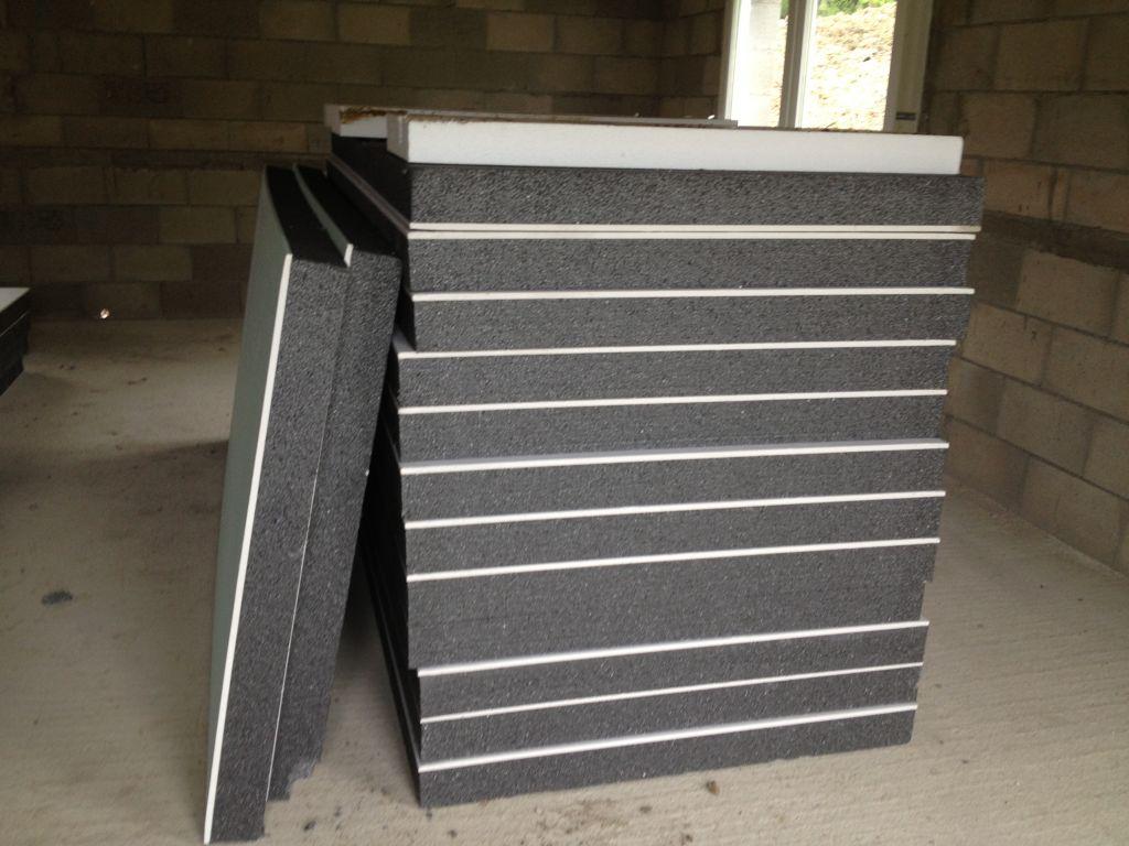 Livraison pour isolation des murs extérieurs