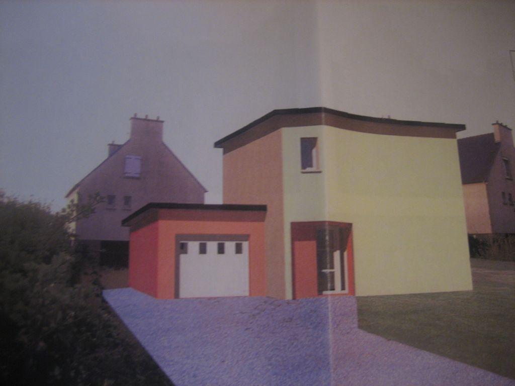 Une implantation de la maison pour le permis de construire...