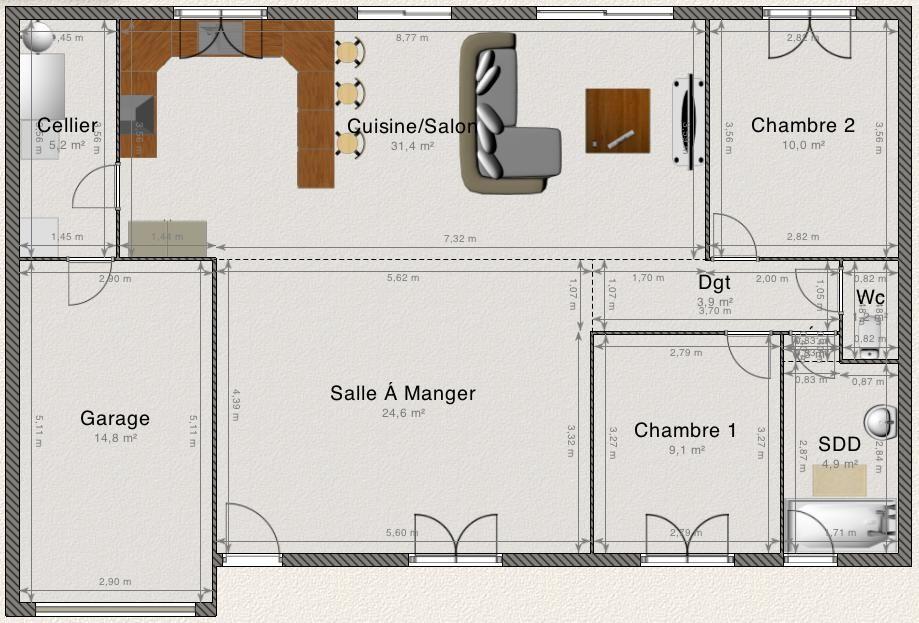 plan combles largeur 4m50 environ 34 messages. Black Bedroom Furniture Sets. Home Design Ideas