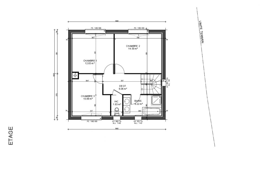 Plan maison sous sol complet exclusivit with plan maison for Plan maison complet