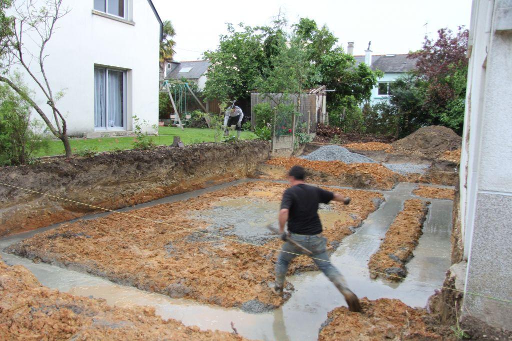 les rigoles de Pompei se sont remplies d'eau