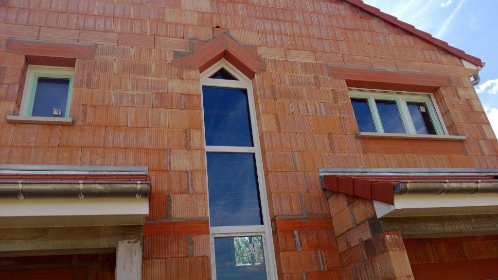 Rez de chauss e l 39 arriv e des briques porotherm for Anzile carrelage