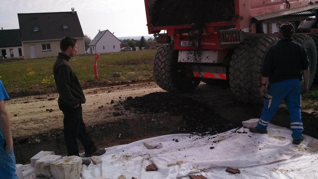 Accès chantier
