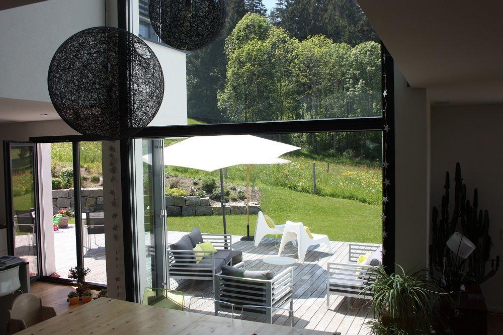 photo terrasse bois lattes suisse juin 2013. Black Bedroom Furniture Sets. Home Design Ideas