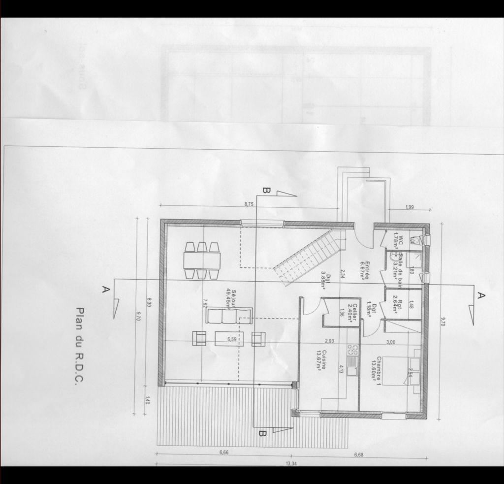 Plan maison 180 m2 plain pied cool floor plan shob du - Plan maison 180 m2 plain pied ...
