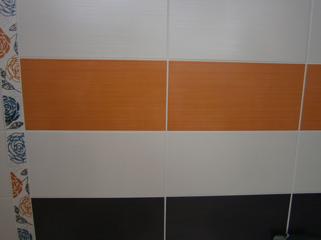 Carrelage mural salle d'eau 2