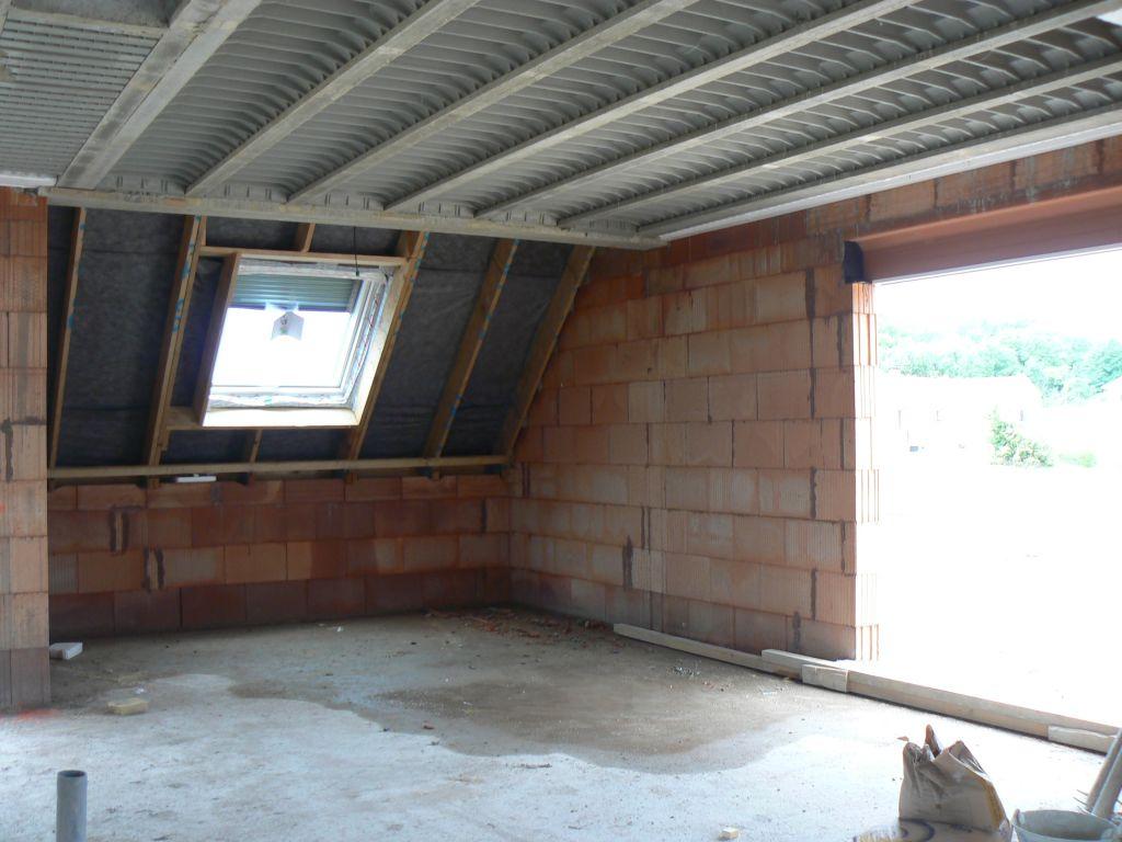 fenêtre de toit du salon en rdc