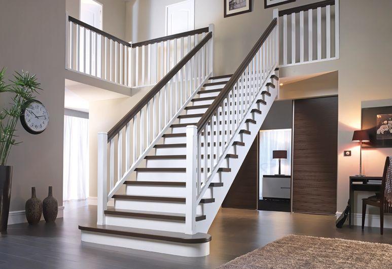 Decoration hall d entree avec escalier architecture - Decoration d une entree avec escalier ...