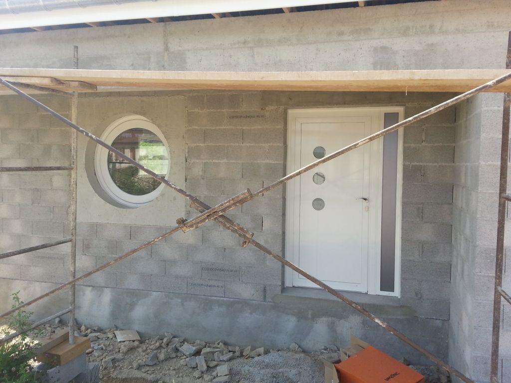 vue du porche d'entrée