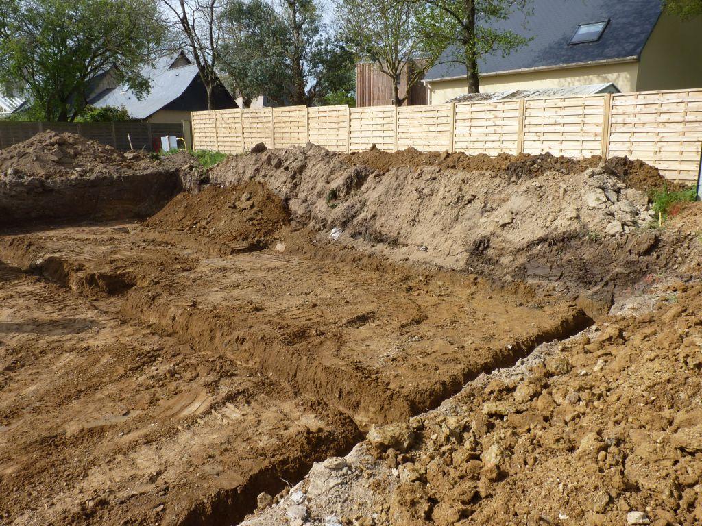 Photo de la réalisation des fouilles n°2