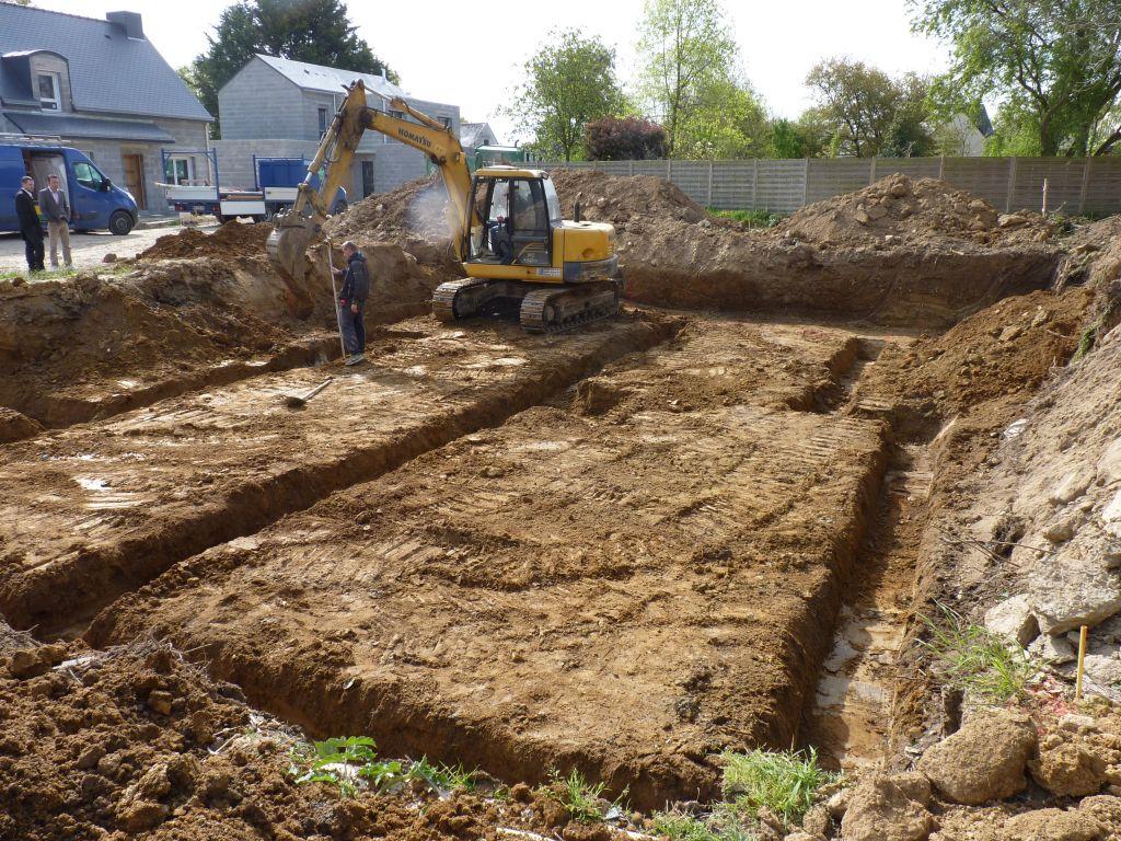 Photo de la réalisation des fouilles n°3