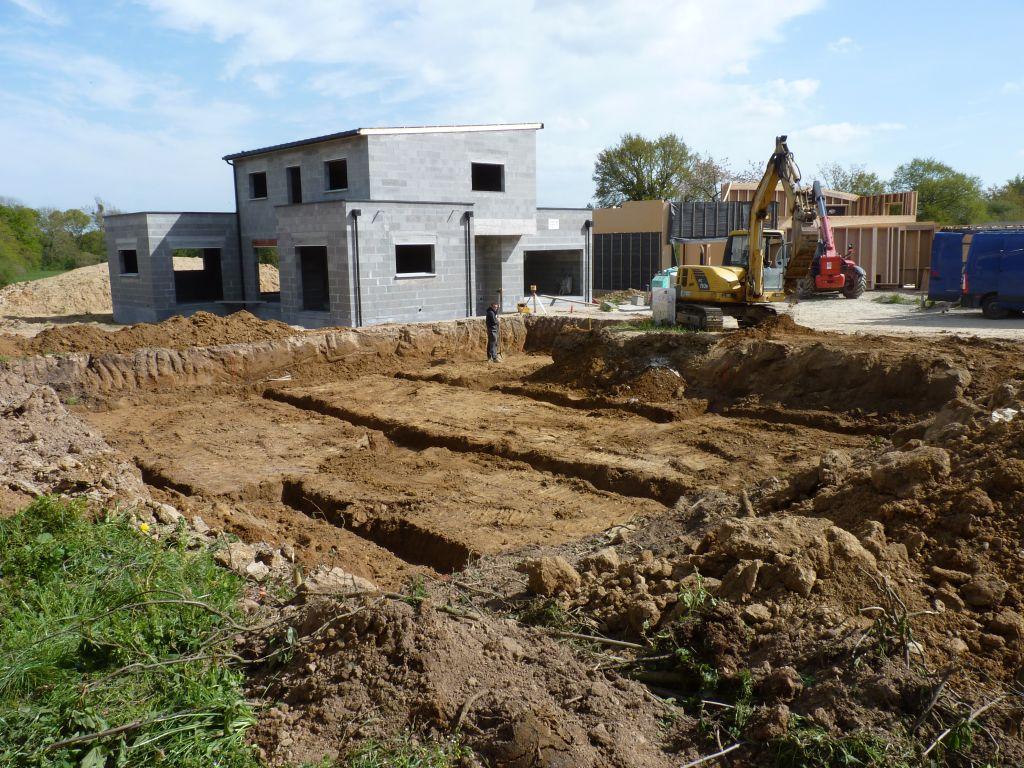 Photo de la réalisation des fouilles n°4