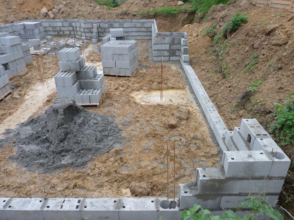 Photo de l'élévation du vide sanitaire n°7
