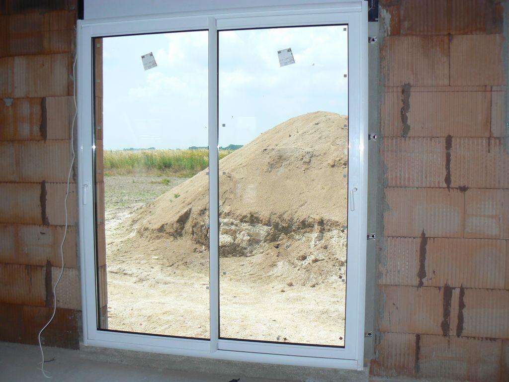 baie vitrée salle à manger
