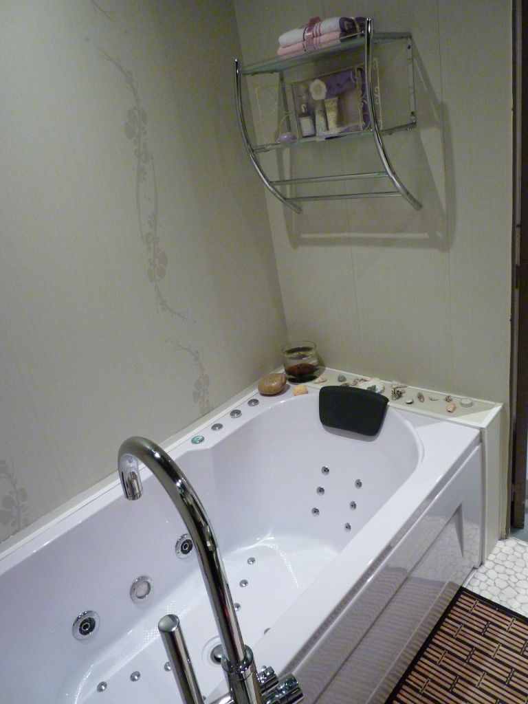 la baignoire balnéo de mon petiot