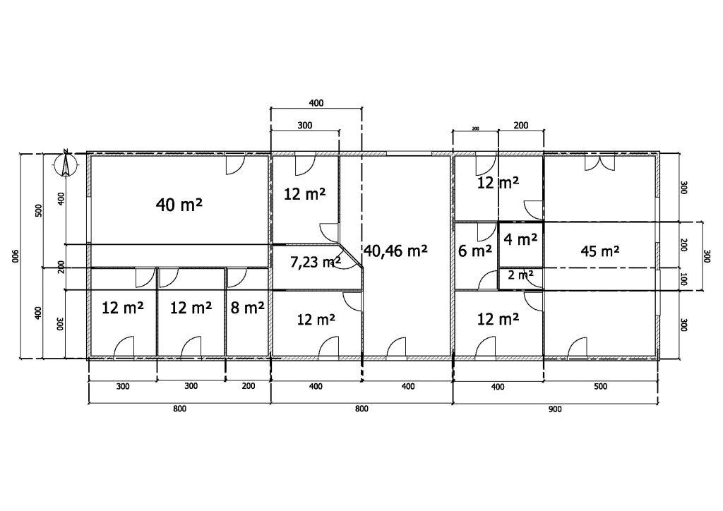plan 3 appartements