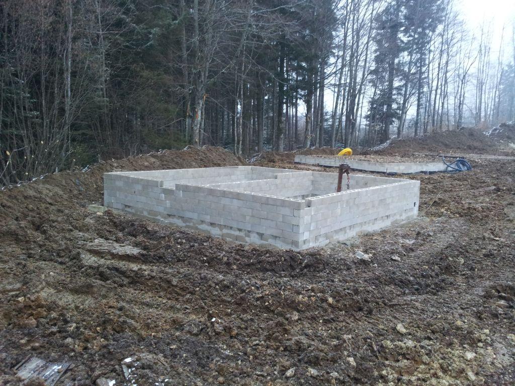Les fondations de notre maison.