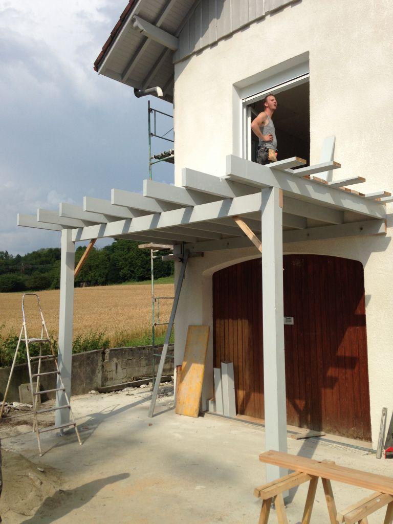 Bien connu Construction d'une extension de balcon/terrasse PA84