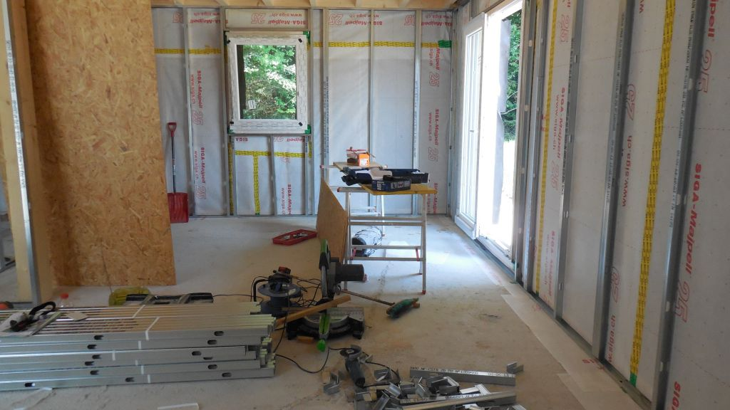 salon cuisine vue de l'entrée (1)