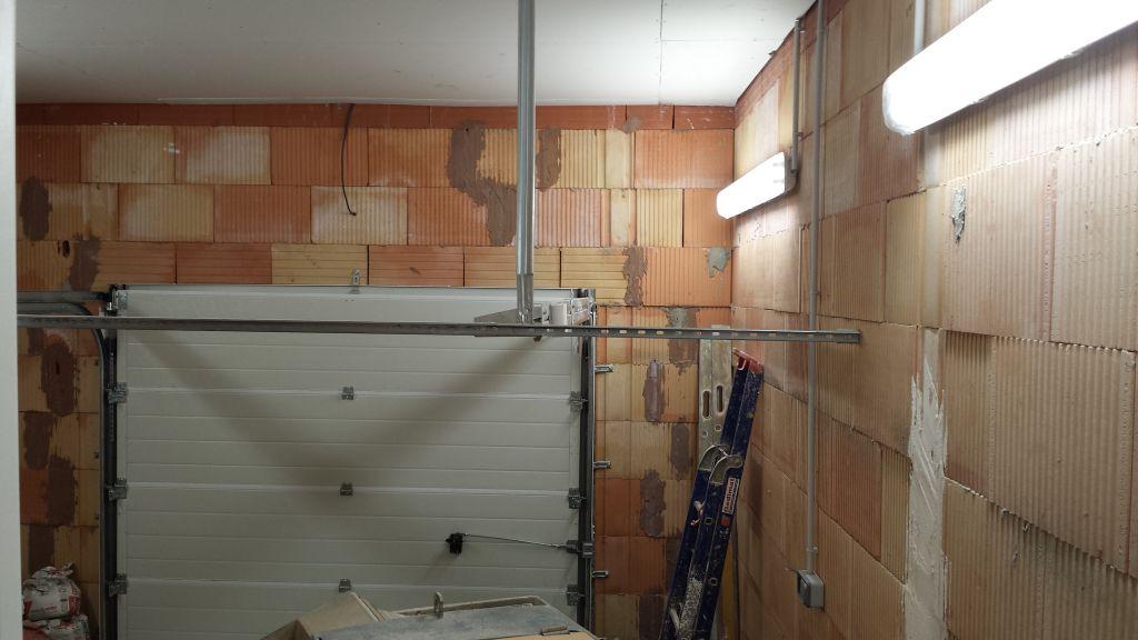 vue de l?installation Electrique du garage