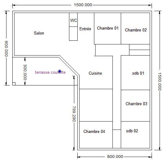 Avis sur plan maison en l 140m 33 messages for Obtenir un plan de maison