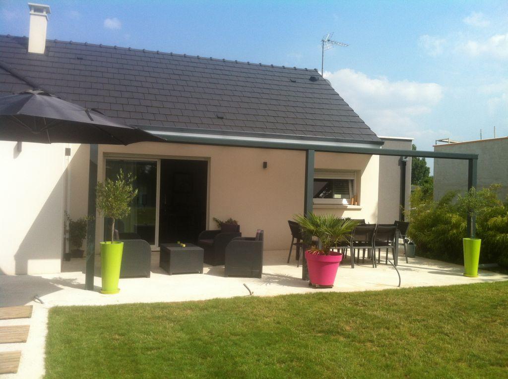 Pergola en alu - Lindry (Yonne - 89) - juillet 2013