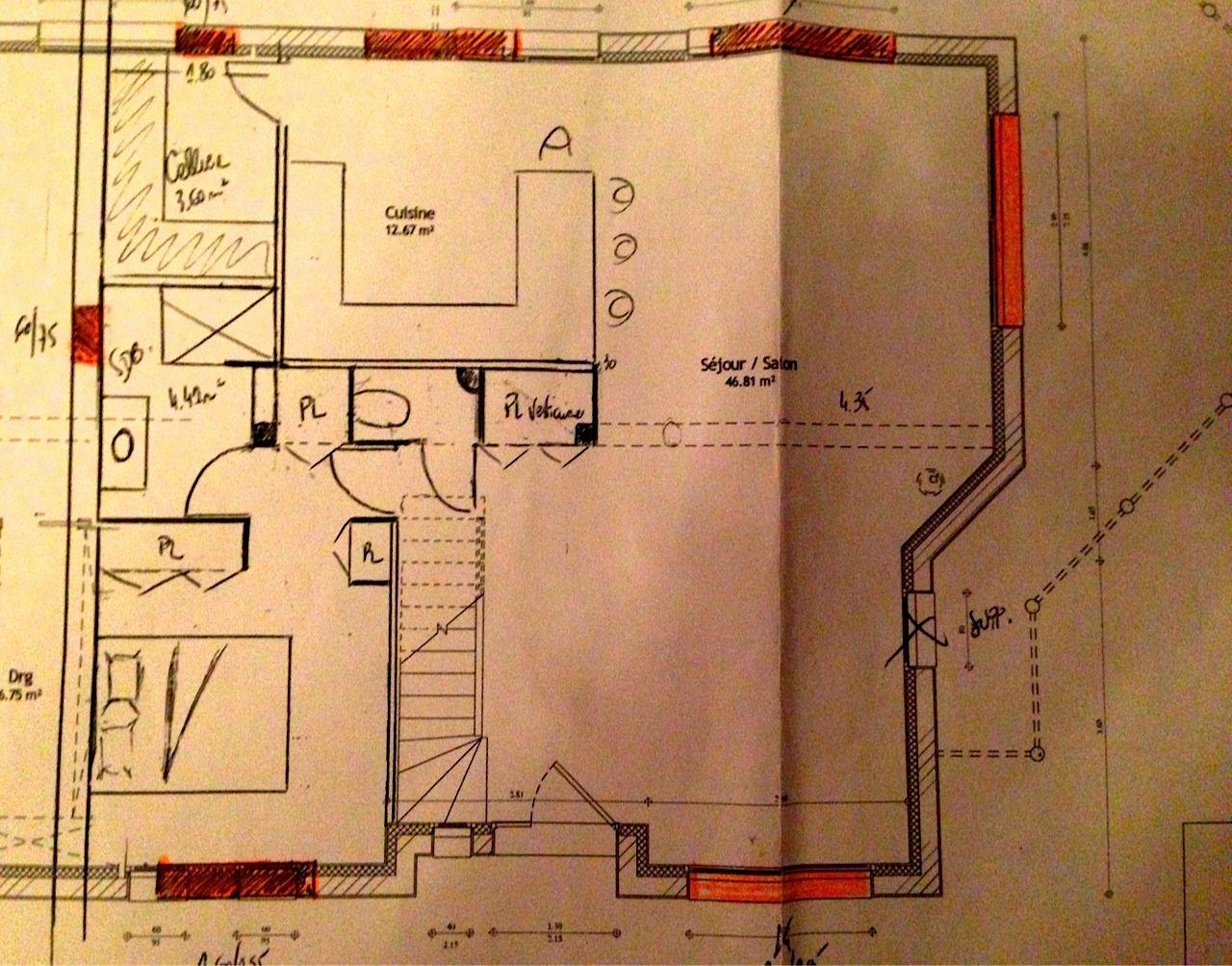 vos avis plan maison 135m2 sur sous sol 20 messages. Black Bedroom Furniture Sets. Home Design Ideas