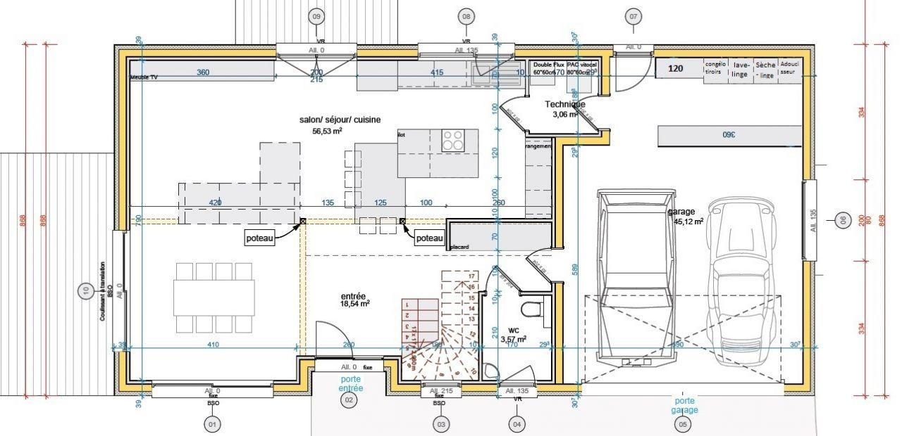 Bien-aimé Quel système de chauffage choisir, maison passive 200m² - 5 messages KG24